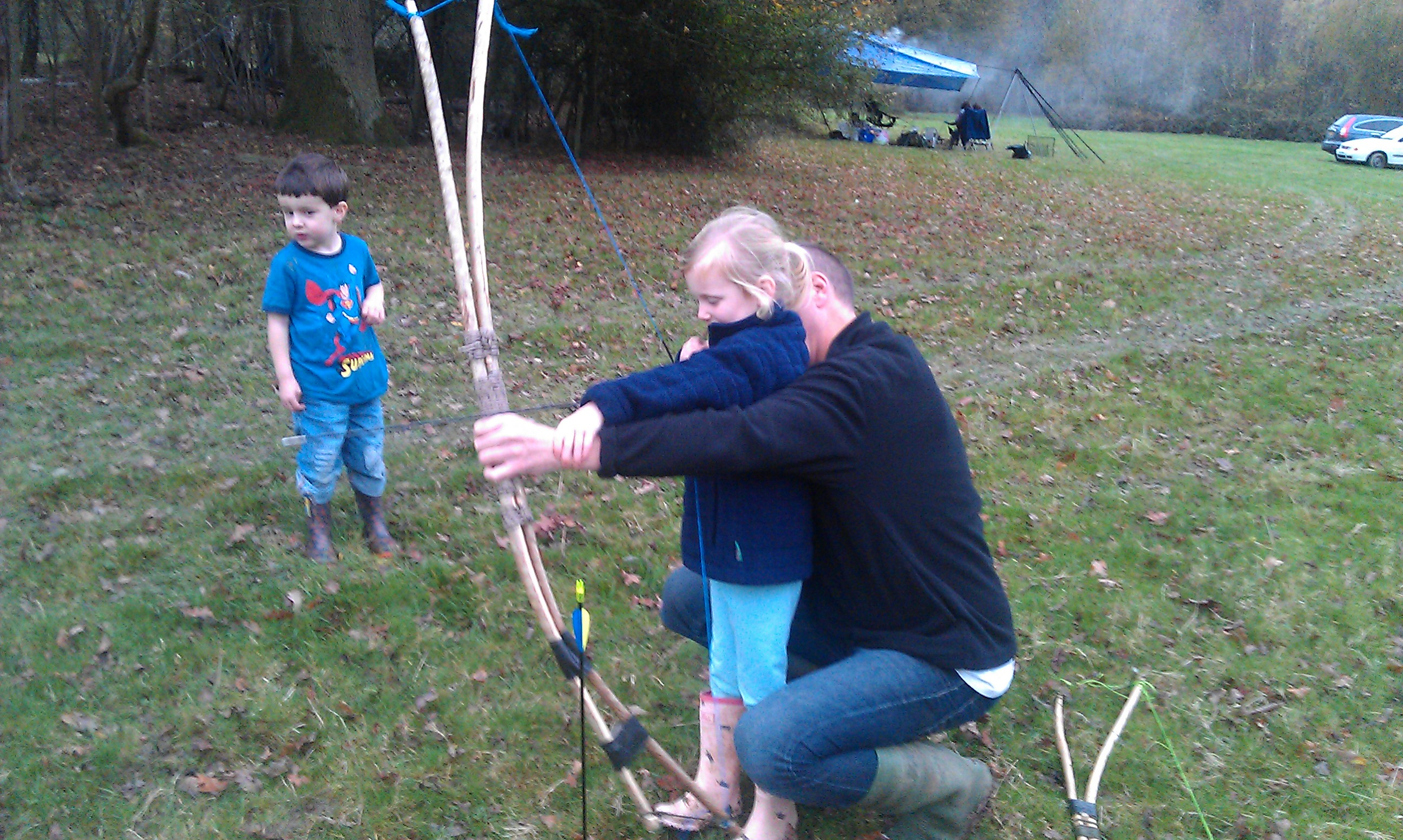 How To…  Build a Father & Son Bow – Bushcraft Days