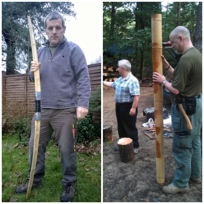 How To…  Build a Bhutanese Bow – Bushcraft Days