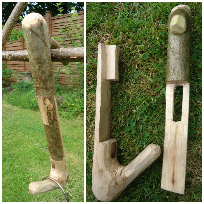 How To…. Carve a Collapsible Pot Hanger – Bushcraft Days
