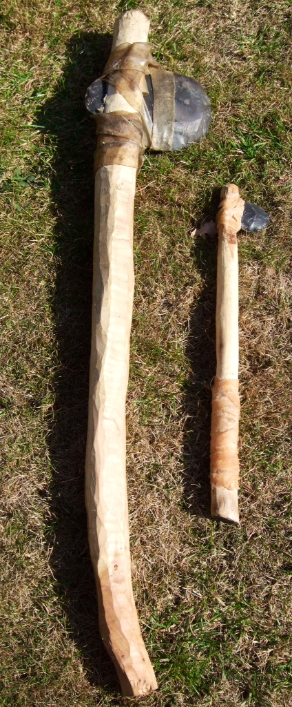 How To Make A Flint Axe And Hatchet Bushcraft Days