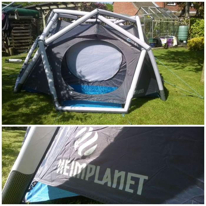 Photo 05-05-2014 14 40 49 & The Heimplanet Cave inflatable tent u2013 Bushcraft Days