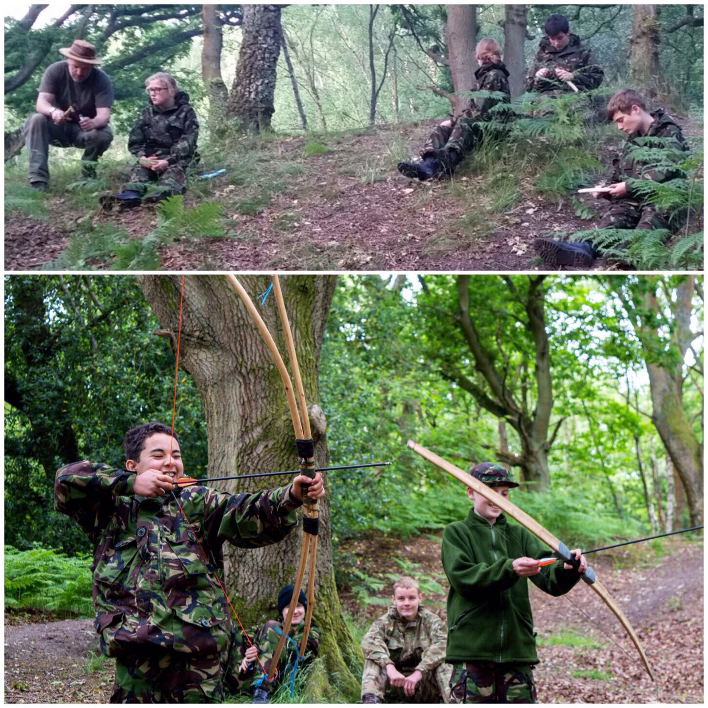 More knife work and archery