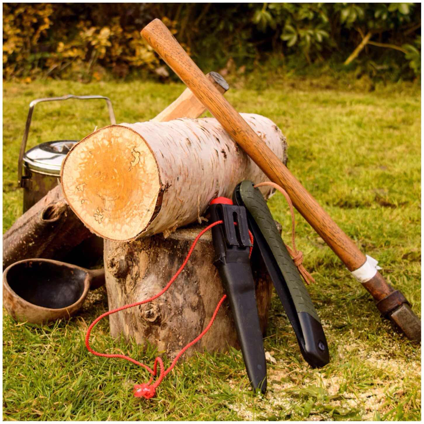 How To…. Build a Dovetail Log Rocket Stove – Bushcraft Days